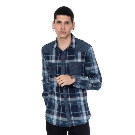 Camisa Cuello Zxgzdfnw Azul Qc08a873 Quarry 1 V ZZqwtFR