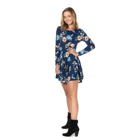 Vestido de jalisco azul