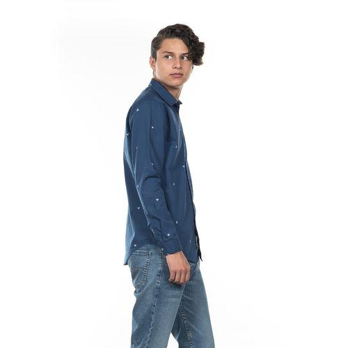 CAMISA-SLIM-FIT-QUARRY-JEANS-MANGA-LARGA-COLOR-AZUL-TALLA-CHICA---Quarry-Jeans