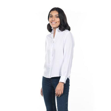 BLUSA-CUELLO-V-QUARRY-JEANS-MANGA-LARGA-COLOR-BLANCO-TALLA-EXTRA-GRANDE---Quarry-Jeans