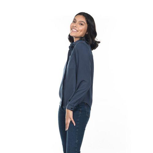 BLUSA-CUELLO-V-QUARRY-JEANS-MANGA-LARGA-COLOR-ROSA-TALLA-GRANDE---Quarry-Jeans
