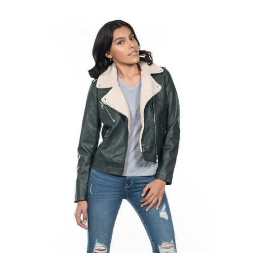 CHAMARRA-DAMA-QUARRY-JEANS-ESTILO-BIKER-COLOR-ROSA-TALLA-GRANDE---Quarry-Jeans