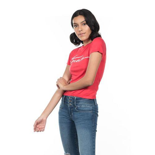 PLAYERA-DAMA-QUARRY-JEANS-CUELLO-REDONDO-MANGA-CORTA-COLOR-ROJO-TALLA-CHICA---Quarry-Jeans