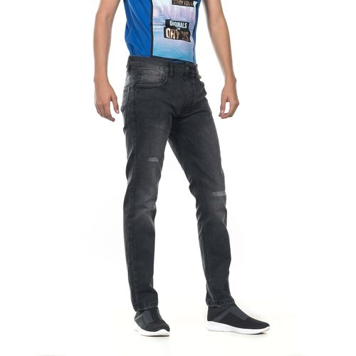 PANTALON-QUARRY-JEANS-MEZCLILLA-SLIM-FIT-MODELO-BONO-COLOR-NEGRO-TALLA-GRANDE---Quarry-Jeans