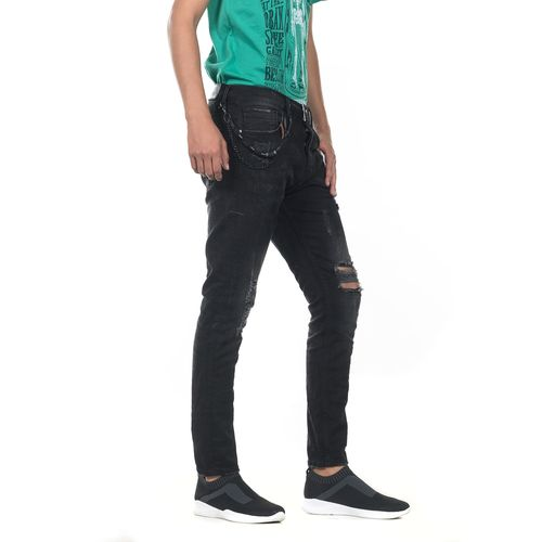 PANTALON-QUARRY-JEANS-MEZCLILLA-CARROT-TIRO-LARGO-COLOR-NEGRO-TALLA-GRANDE---Quarry-Jeans